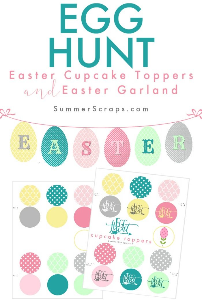 Egg-Hunt-Easter-Cupcake-Toppers-and-Easter-Garland-SummerScraps-Pin