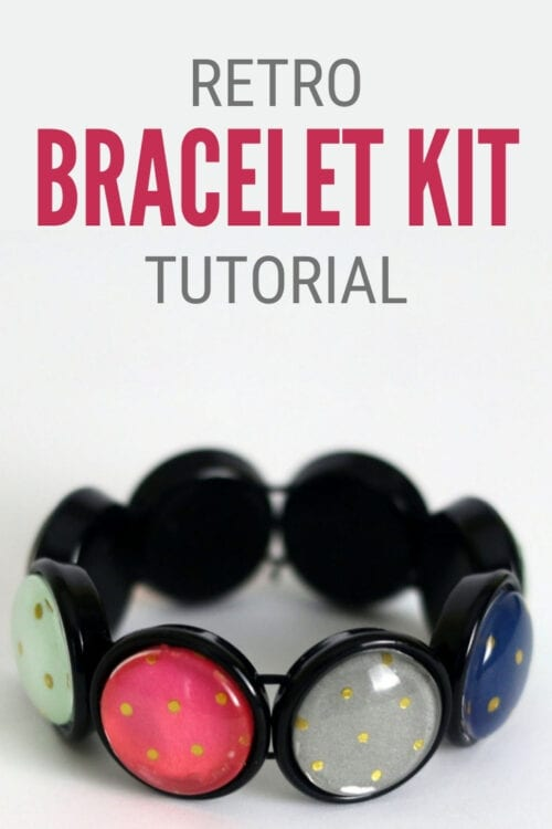 title image for How to Make a Homemade Bracelet with the Retro Bracelet Kit