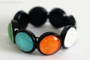 How to Make a Handmade Retro Bracelet