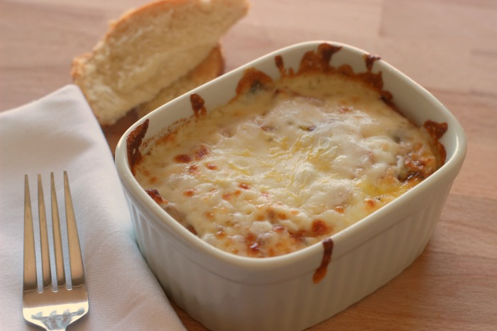 Baked Eggs with toaster oven
