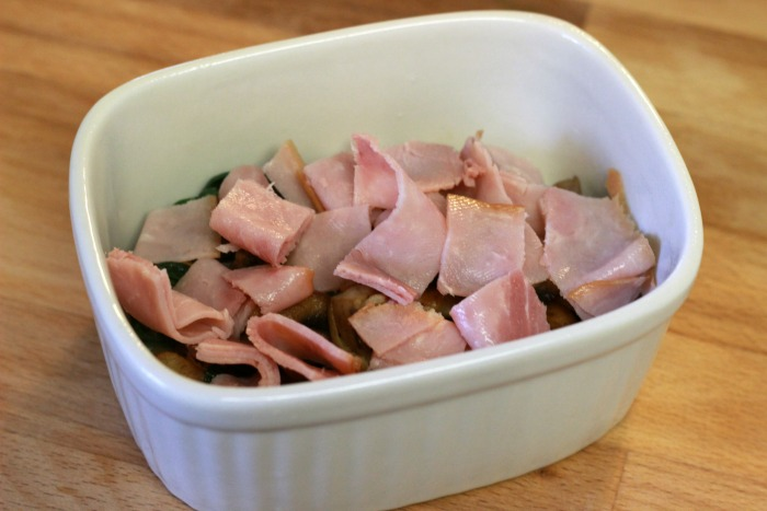 Chopped Ham in ramekin