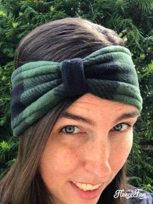 Fleece Ear Warmer Headband DIY