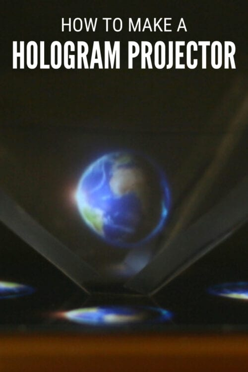 title image for How to Make a Hologram Projector at Home