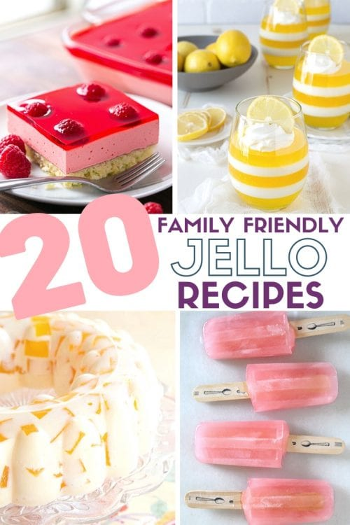 20 Family Friendly Jello Recipes
