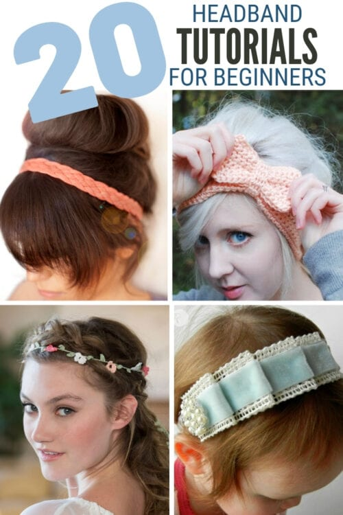 title image for 20 Crafty Headband Tutorials for Beginners