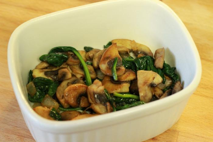 mushrooms in ramekin