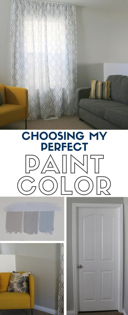 title image choosing my perfect paint color with repose gray sherwin williams