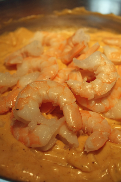 image of cooking shrimp curry