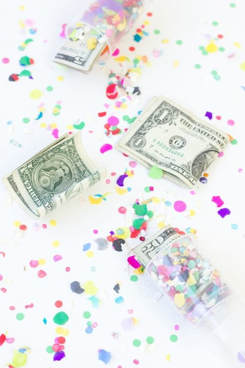 Surprise Money Confetti Popper