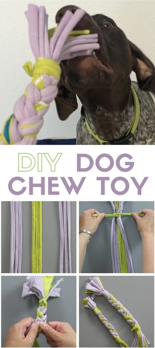 Dog Chew Toys out of Old Shirts | Handmade | Reuse and Repurpose | Tshirts | T-shirts | No Sew | Easy DIY Craft