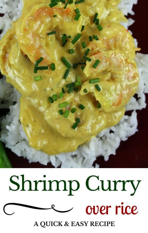 title image for How to Make Shrimp Curry Easy