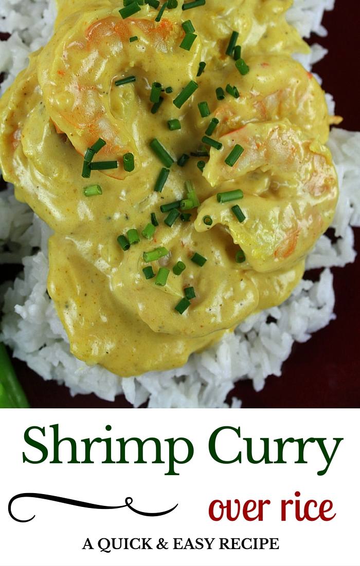 Shrimp Curry Over Rice | Quick and Easy Dinner Idea's | Recipes |
