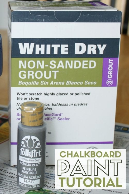 title image for How to Make Chalkboard Paint Any Color