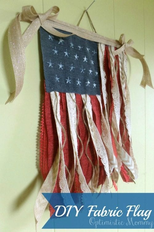 image of DIY Fabric Flag