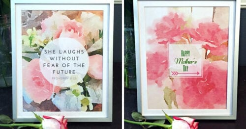 free watercolor printables mothers day 3