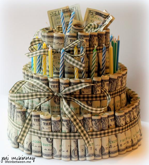 Fantastic Money Birthday Cake Jake 27 The Crafty Blog Stalker Funny Birthday Cards Online Kookostrdamsfinfo