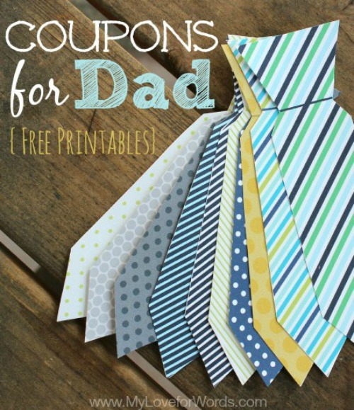 Need a gift idea for the man in your life? You are sure to find the perfect handmade gift for Father's Day in this collection of 20 DIY ideas.