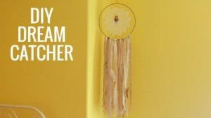 DIY Dream Catcher Decor
