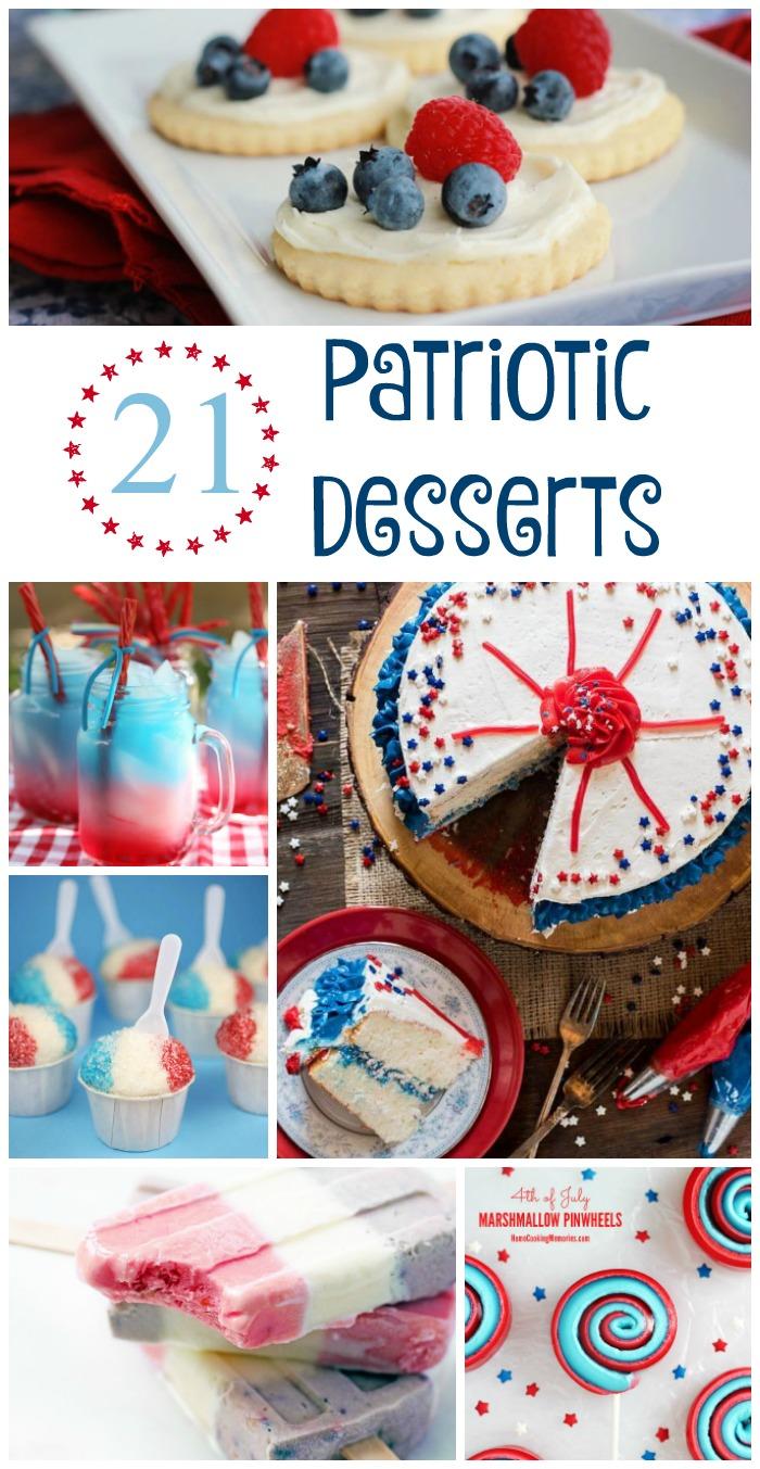 21 Patriotic Desserts