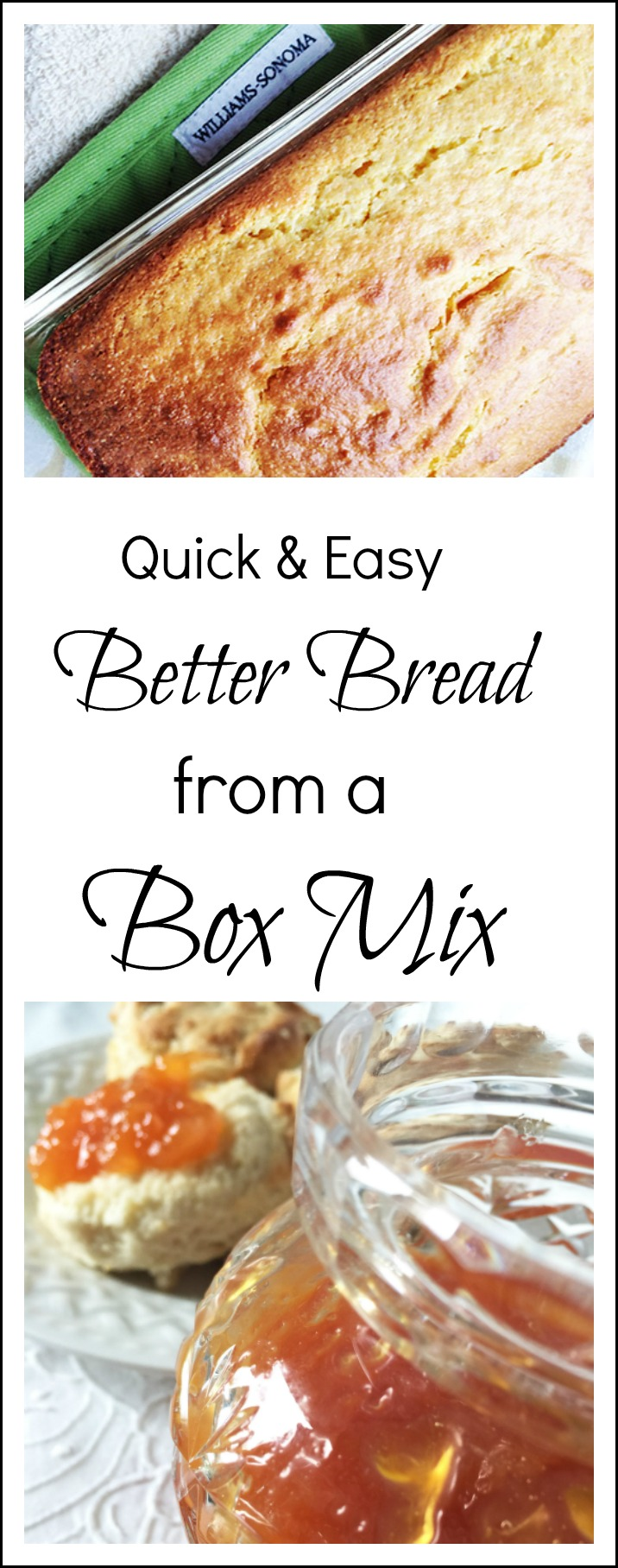 It's easy to make better bread from a box mix with a few tricks. Find out how to juggle the box mix, fluid, mixing time and bake time.