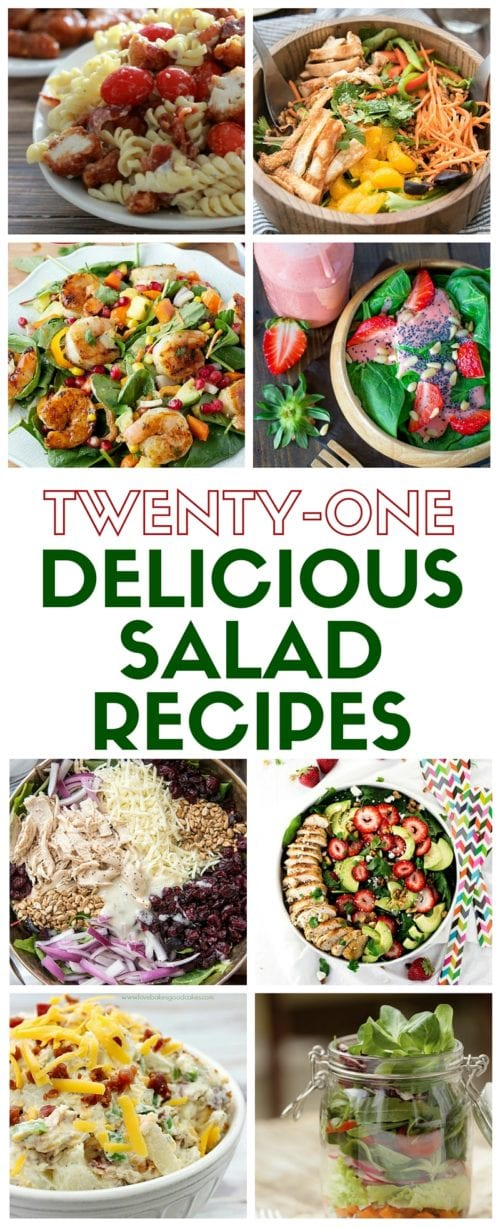 Delicious Salad Recipes | Salads for Dinner | Summer | For a Crowd