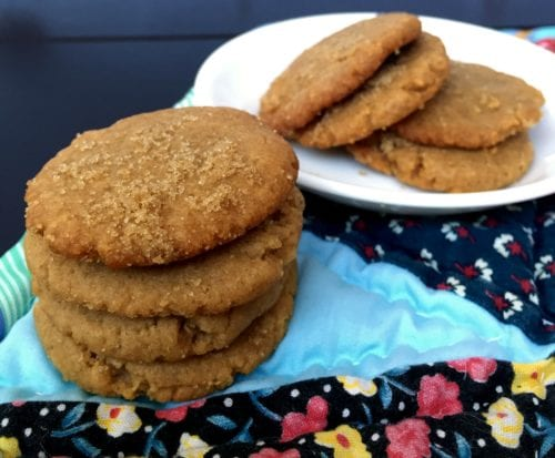 A recipe for the perfect peanut butter cookies, crunchy on the outside, creamy in the middle. A recipe that has been passed down through the generations.
