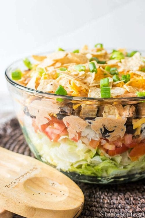 image of Layered Mexican Salad