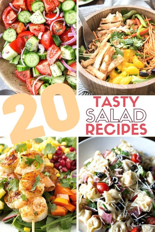 title image for 20 Tasty Salad Recipes