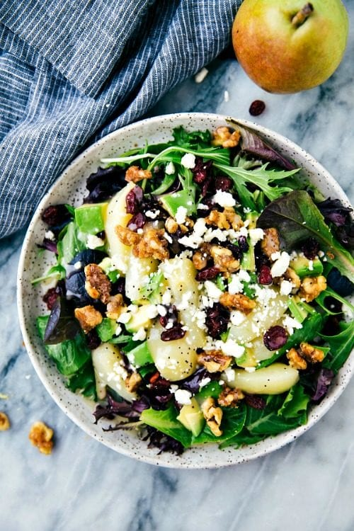 image of Candied Walnut Pear Salad