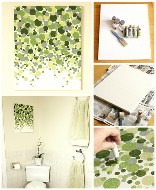 Diy Wall Art Big : Painted wall art ideas the crafty stalker