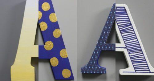 Decorate Monogram Letters 26