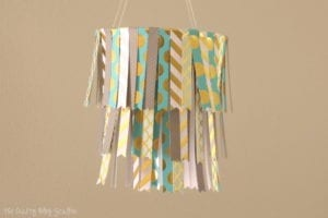DIY Hanging Paper Mobile
