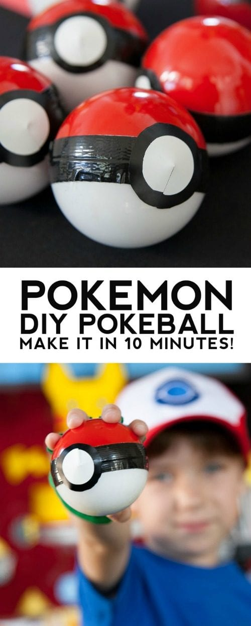 image of Pokeball Party Favors