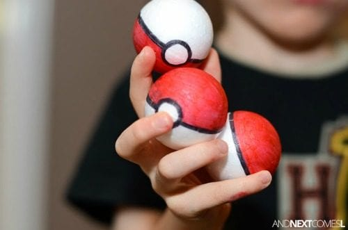 image of DIY Pokeballs