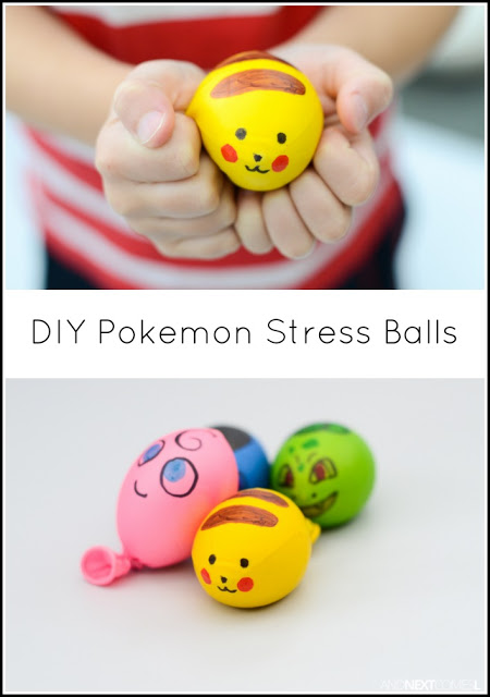 image of a Pokemon Stress Ball