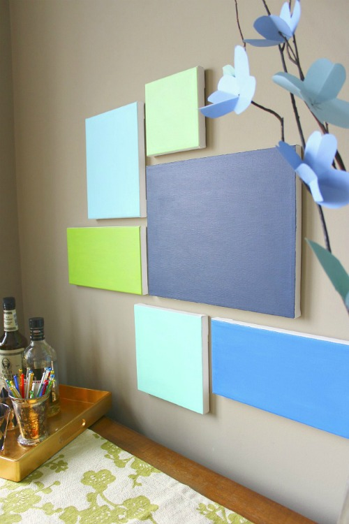 Do It Yourself Home Decorating Ideas: 20 Painted Wall Art Ideas