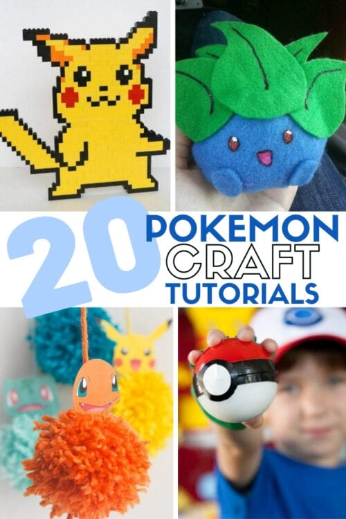 title image for Top 20 Pokemon Craft Ideas
