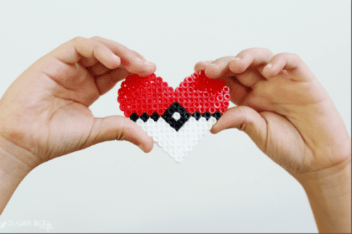 image of Pokemon Go Perler Bead Craft
