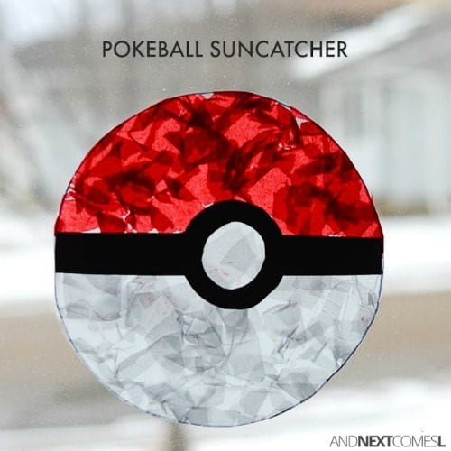 image of a Pokemon Sun Catcher