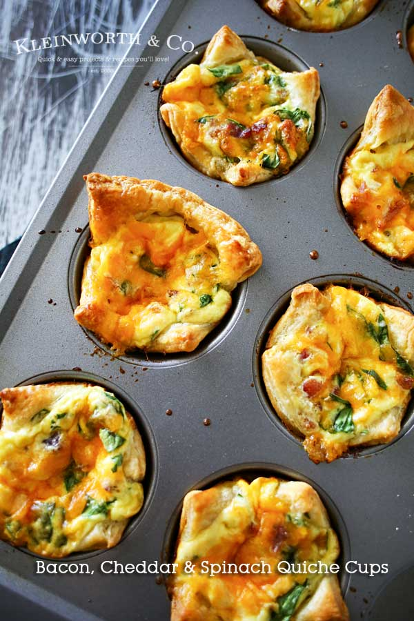 Bacon-Cheddar-Spinach-Quiche-Cups
