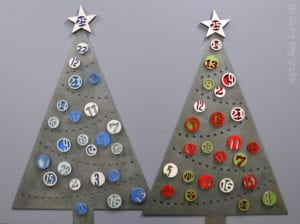 Christmas Tree Advent Countdown