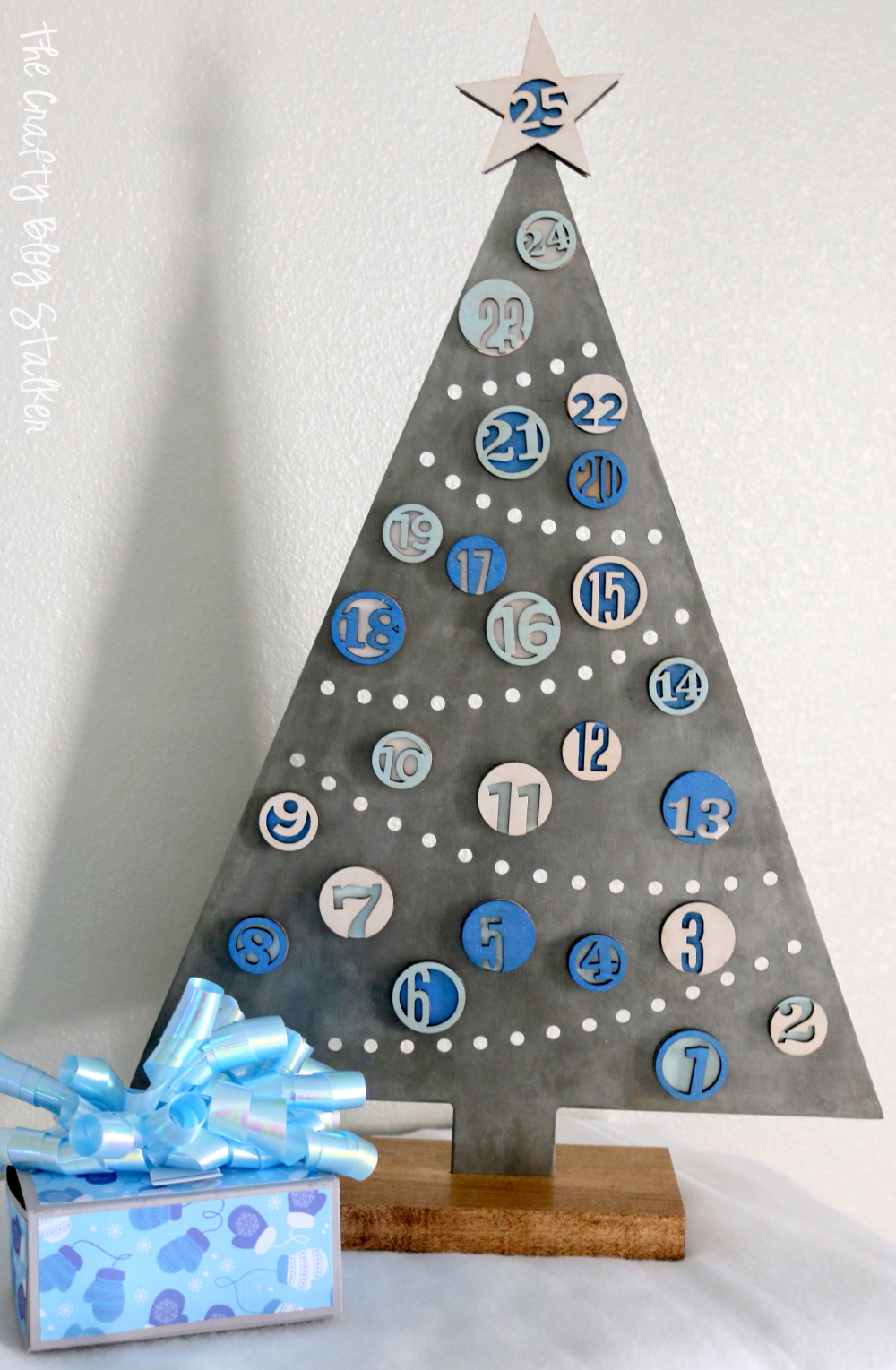 Countdown To Christmas Day With This Tree Advent Calendar That Will Quickly Become Part Of