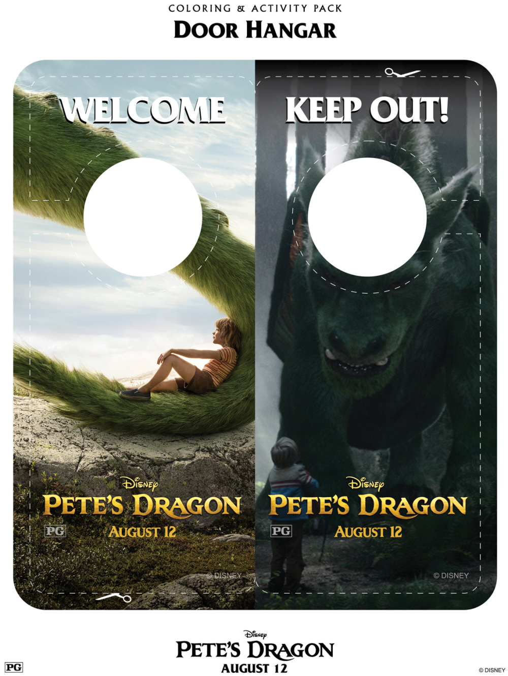 Download free printable activity sheets for Disney's Pete's Dragon and fall in love all over again! Movie to hit theaters August 12, 2016.