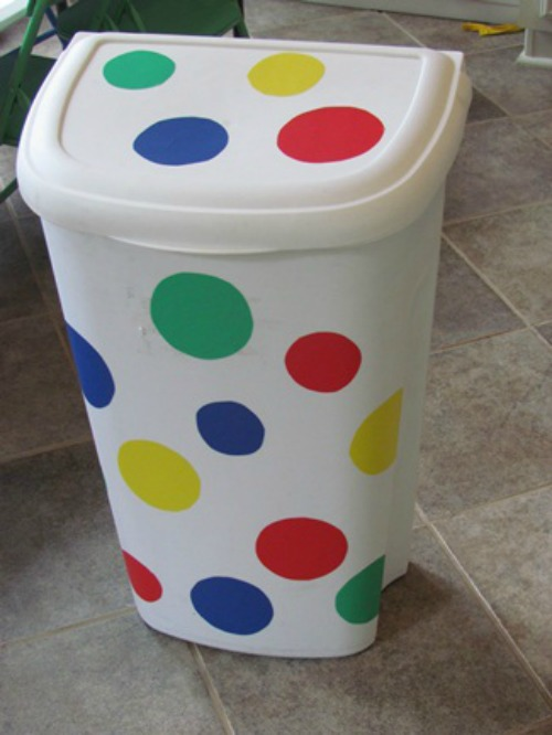 Spice up your party, furniture and home decor with polka dots! Simple DIY craft tutorial ideas that all include the polka dot pattern and theme.