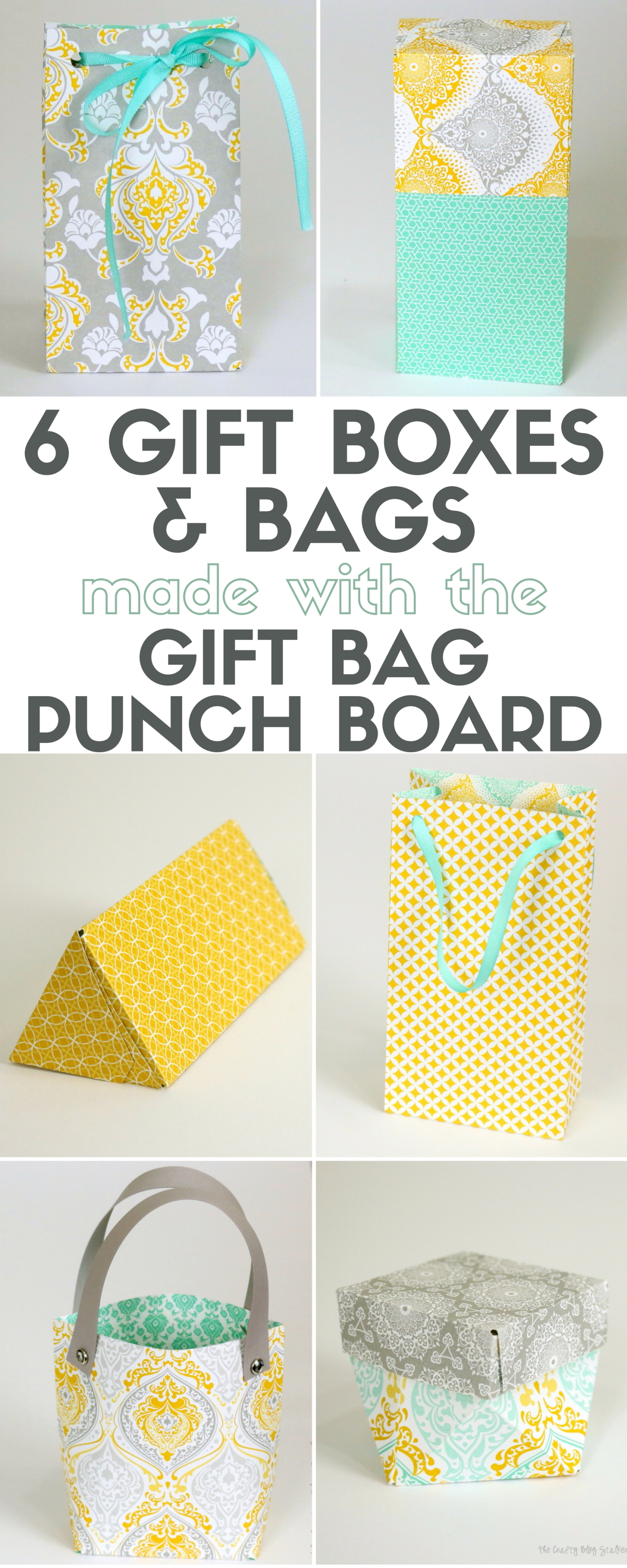 How To Make 6 Diffe Gift Bo And Bags With The Bag Punch Board