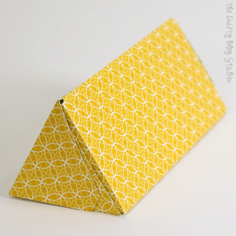 6 gift boxes and bags made with gift bag punch board the crafty how to make a triangle gift box negle Gallery