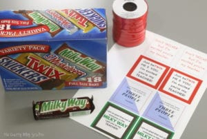 Teacher Gift Idea | Free Printable | Candy Bar | Easy DIY Craft Tutorial