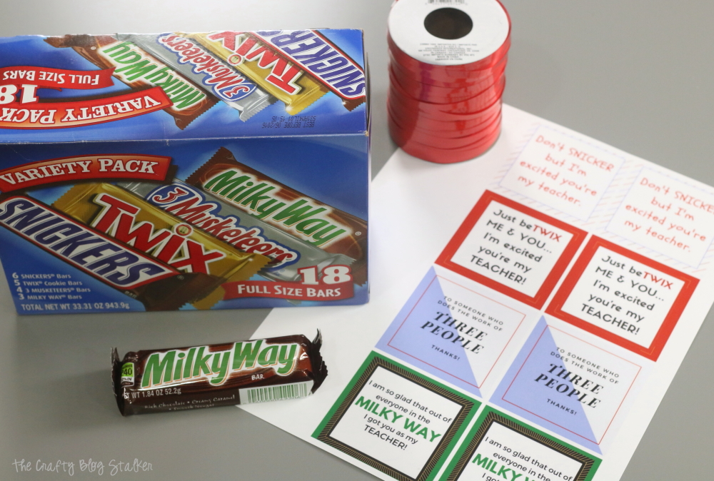 How to Make a Printable Candy Bar Wrapper Teacher Gift ...