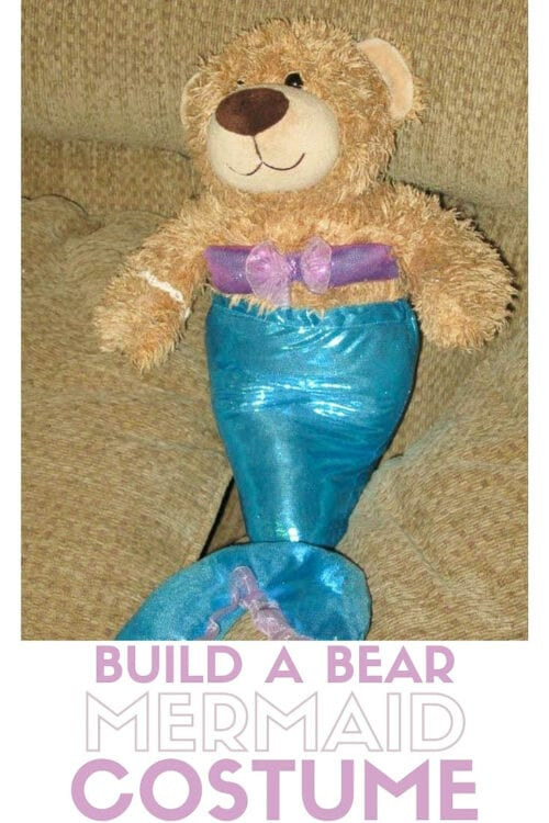 title image for How to Make a Mermaid Costume for a Teddy Bear