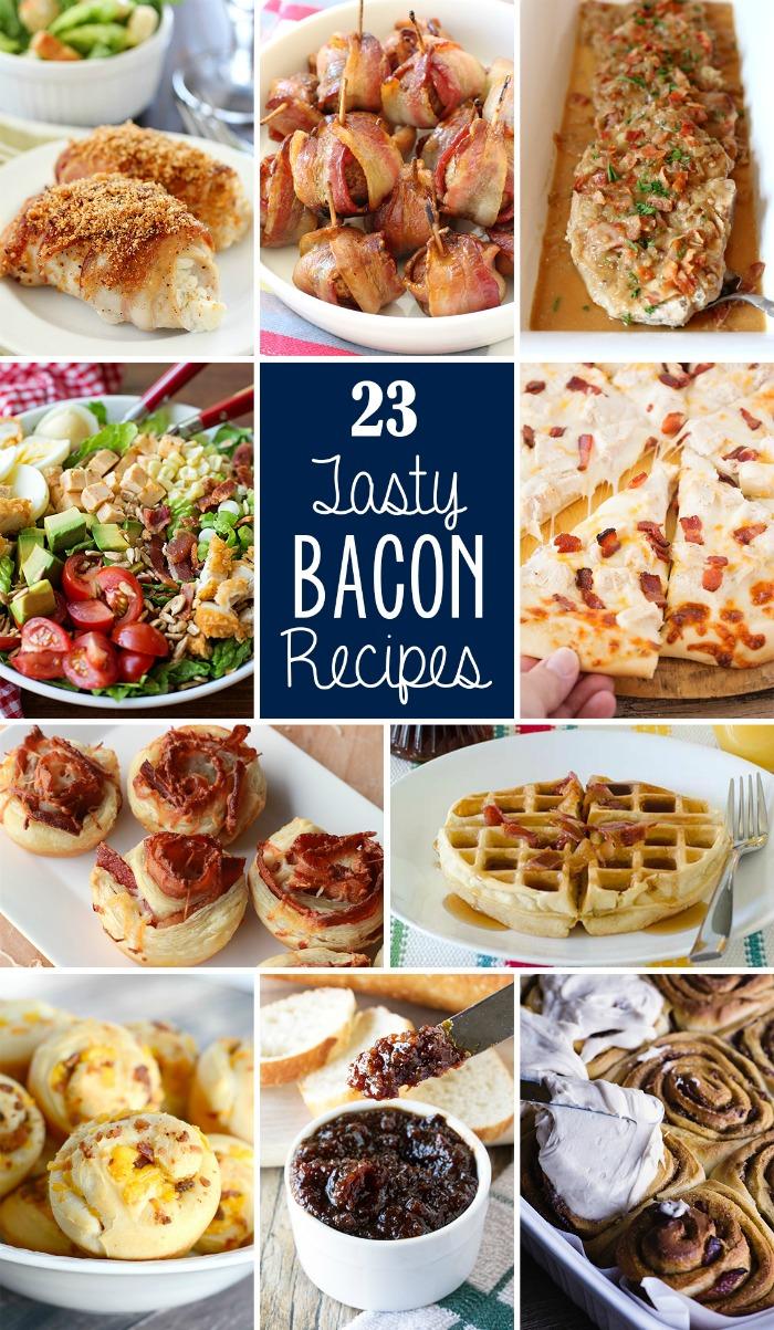 23 Tasty Bacon Recipes